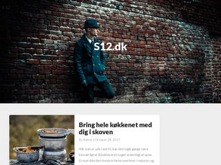 Screenshot of S-12.dk main page